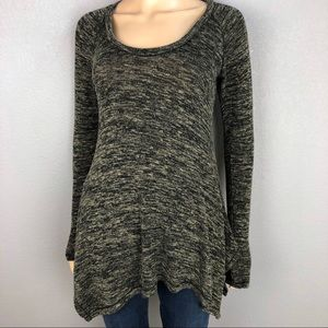 Max Studio Long Sweater Space Dye Pullover